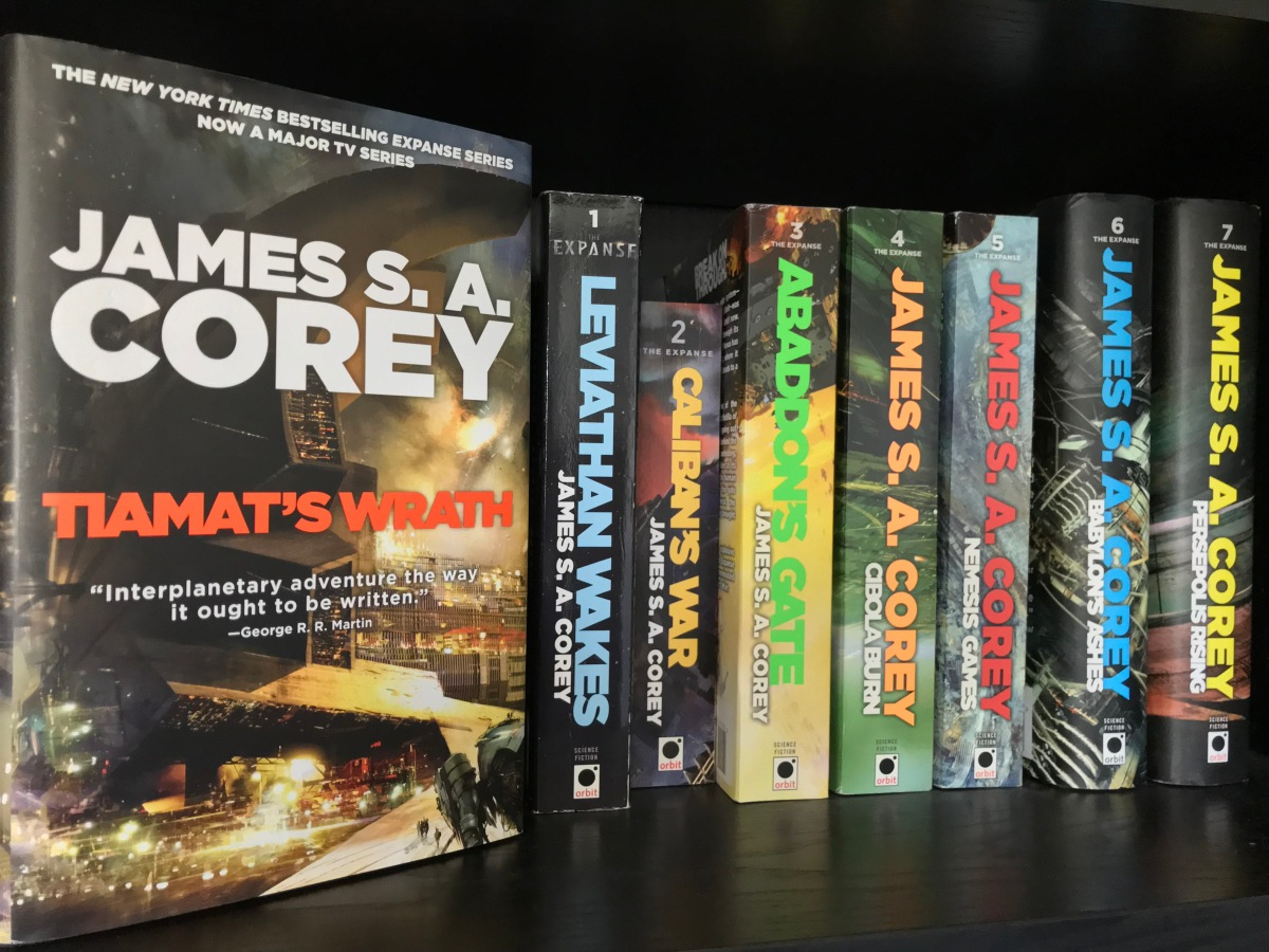 Insurrection A Review Of Tiamat S Wrath By James S A Corey City On The Moon